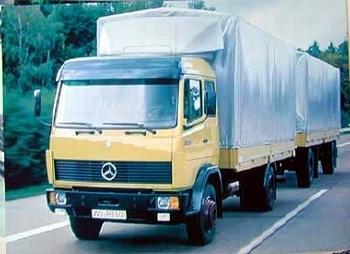 Mercedes-benz Original Ausstellungs Lastkraftwagen Lk