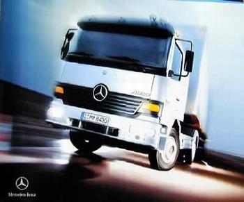 Mercedes-benz Original Pressefoto Actros Nutzfahrzeuge