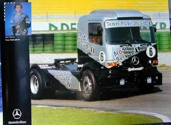 Mercedes-benz Original Race Truck Steve