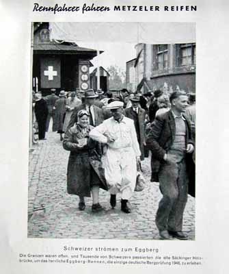 Metzeler Original 1949 Eggberg Rennen