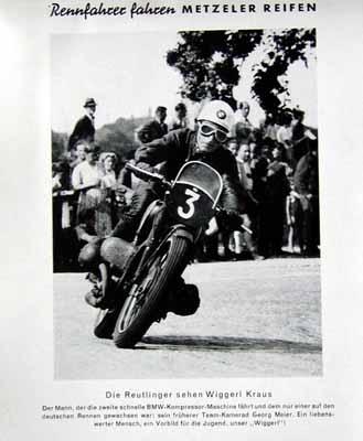 Metzeler Original 1949 Wiggerl Kraus