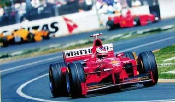 Michael Schumacher Ferrari Automobile Car