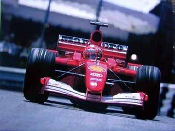 Michael Schumacher Ferrari F2001 Gp