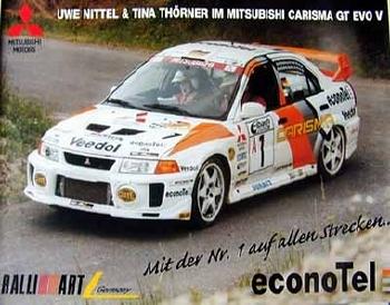 Mitsubishi Original 1997 Carisma Gt