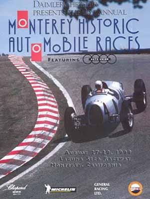 Monterey Historic Automobile Races Rennen