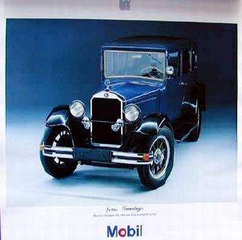 Mobil Original 1991 Mercedes Stuttgart