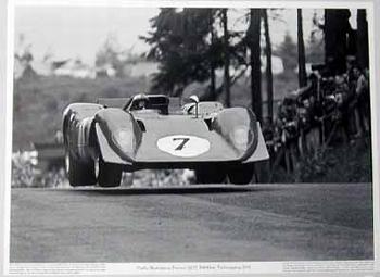 Motorsport Classic Pedro Rodriguez Ferrari