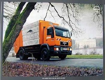 Utility Vehicles 1998 Man E2000