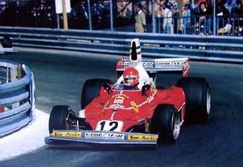 Niki Lauda Ferrari 312 T