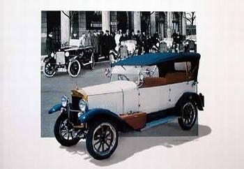Nsu 5/25 Ps Tourenwagen 1925 Poster