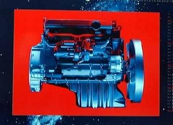 Original Daimlerchrysler 1999 Engine Om