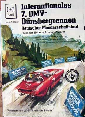 Original Dmv Rennplakat Ca 1971