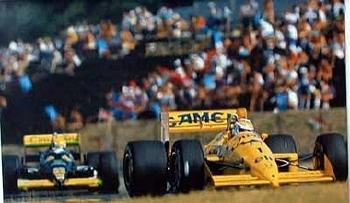 Original Elf- Nelson Piquet Formel
