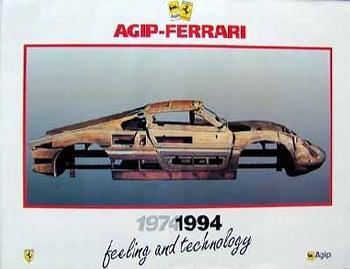 Original Ferrari-agip 1994 Aus Archivo