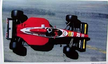 Original Ferrari-agip 1994 Ferrari F