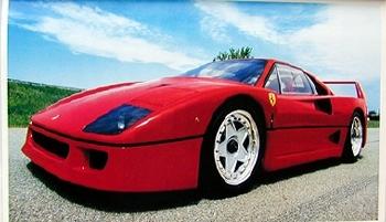 Original Ferrari-agip 1994 Ferrrai F40