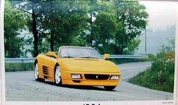 Original Ferrari-agip 1994 Ferrrai 348