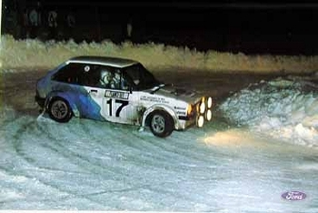 Original Ford 1980 Rallye Monte