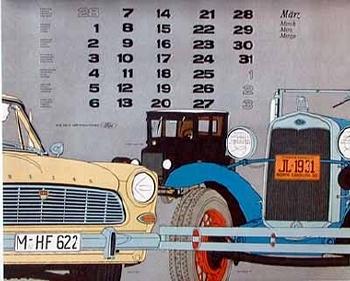 Original Ford Taunus 12 M