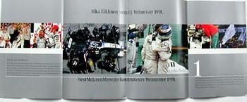 Original Mercedes-benz Mika Hakkinen Formel