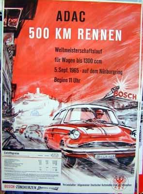 Original Renn 1965 Adac 500-km-rennen