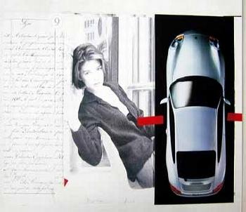 Poster 50 Years Of Porsche 1998, Porsche 996 Coupé
