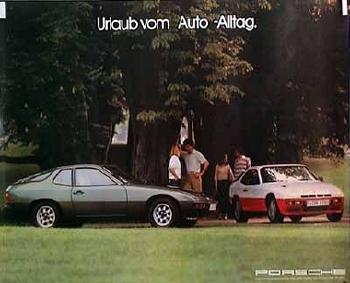 Porsche 924/924 Turbo Urlaub Vom