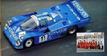 Porsche Kremer Racing 1985 962