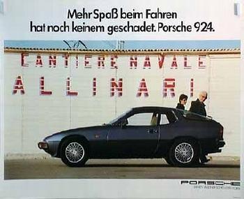 Porsche 924 Mehr Spaß Beim