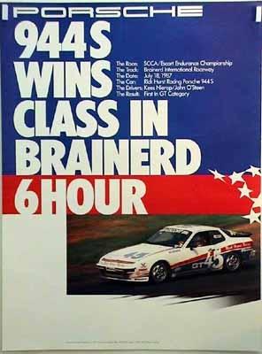 Porsche 944 S Wins Class