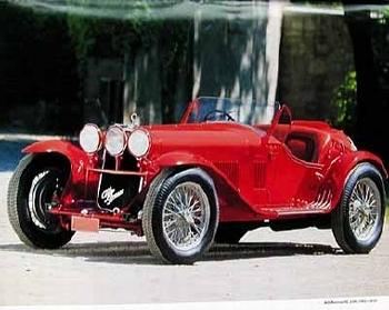 Alfa Romeo 8c 2300 1932