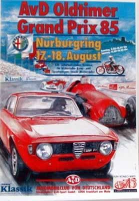 Alfa Romeo Nürburgring 1985