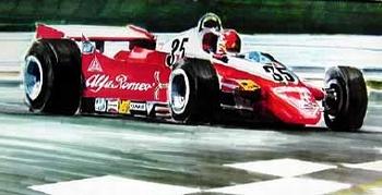 Alfa Romeo Original 1980 Formel