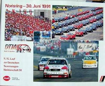 Audi Original 1991 Dtm V8