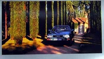 Audi Original Poster 1994, Audi Cabriolet 2.8e