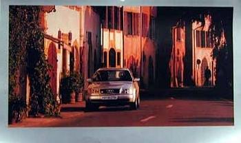 Audi Original Poster 1994, Audi S4 4.2