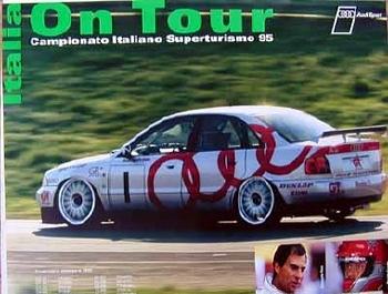 Audi Original 1995 Italienische Torenwagen-meisterschaft
