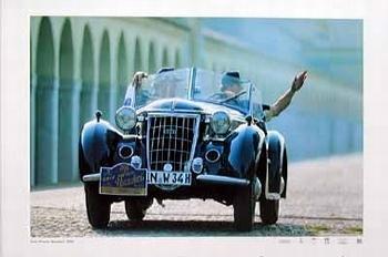 Auto Union - Wanderer Poster, Audi Original Poster 2003