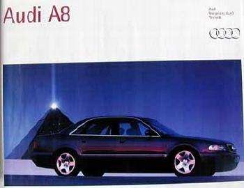 Audi Original A8 Automobile Car