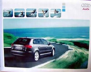Audi Original Plakat A3