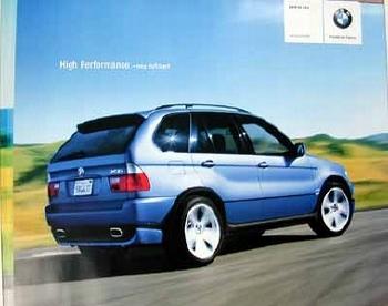 Bmw Original 2003 X5 4