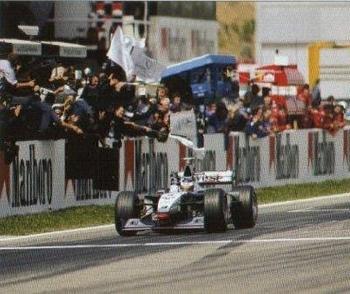 Barcelona 1998 Formula 1 Hakkinen