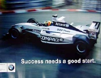 Bmw Original Motorsport Williams F1