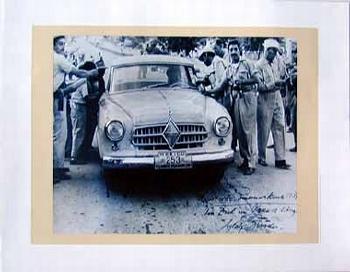 Borgward Isabella Carrera Panamericana 1959