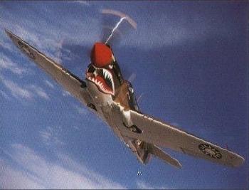 Curtis Wright P-40n Luftfahrt Flugzeug