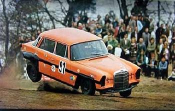 Bilstein Original 1973 Mercedes-benz Auto-cross