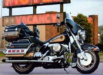 Harley Davidson Flhtc Anniversary 1988