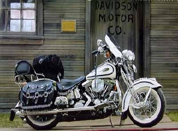 Harley Davidson Flsts Heritage Springer