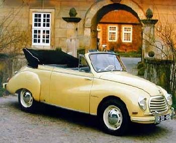 Dkw Typ F93 Cabriolet 1955