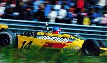 Emerson Fittipaldi Auf Copersucar Buenos